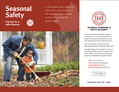 Autumn Safety Brochure